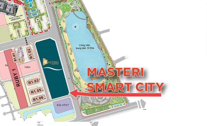 Điểm danh 3 lợi ích vàng nhờ vị trí đắc địa tại Masteri Smart City