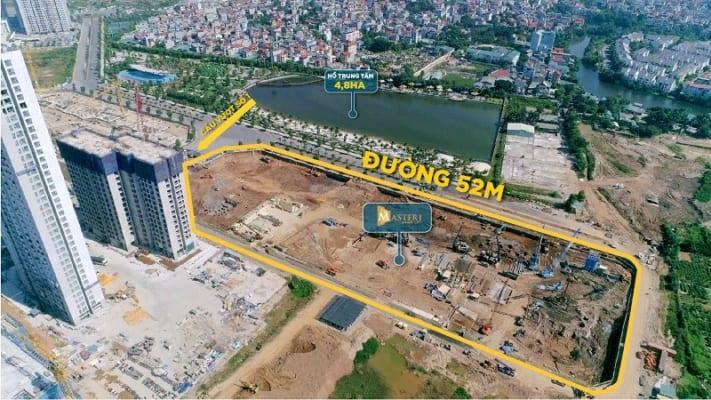 Sức hút từ vị trí trung tâm khẳng định giá trị Masteri Smart city