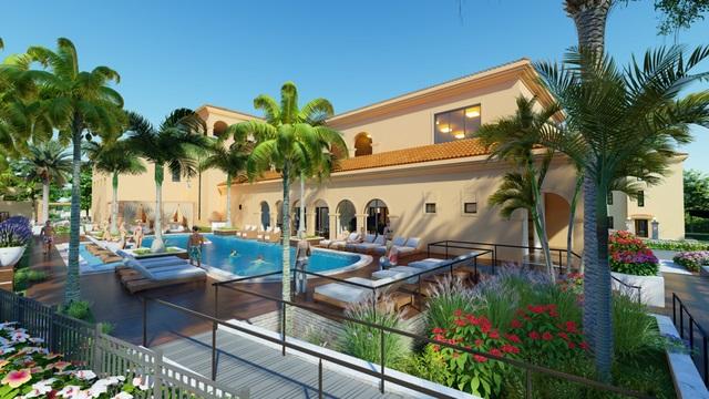 Wyndham Sky Lake Resort & Villas - Tinh hoa kiến trúc Địa Trung Hải